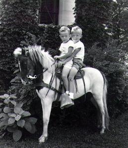 Jim (left) & me
