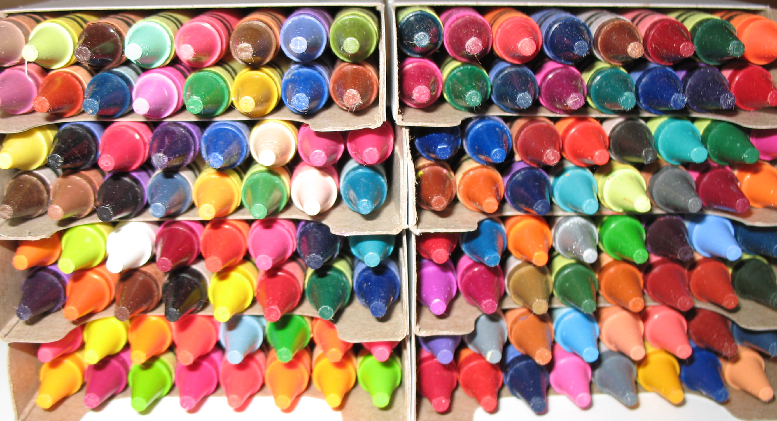 Image result for customised 64-piece box of Crayola