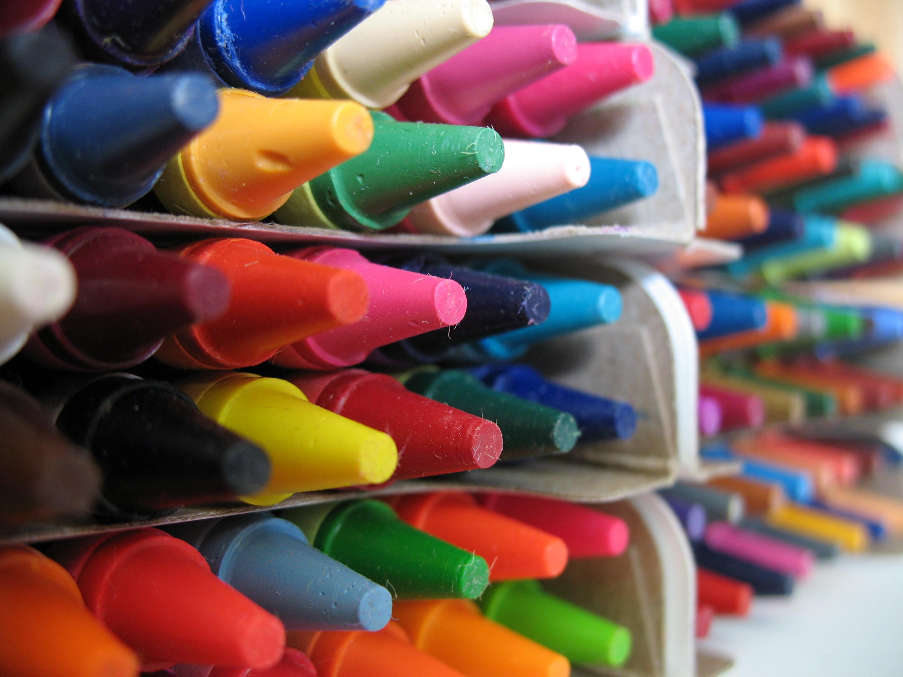 Crayola Crayon Colors