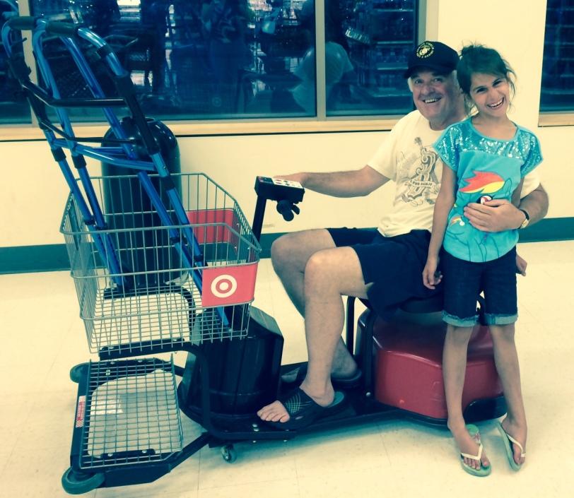 Target Cart Jockey and Grace