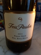 Award-winning wine with the little coonskin cap logo!