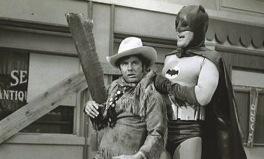 Shame (Cliff Robertson) thwarted by Batman (Adam West)